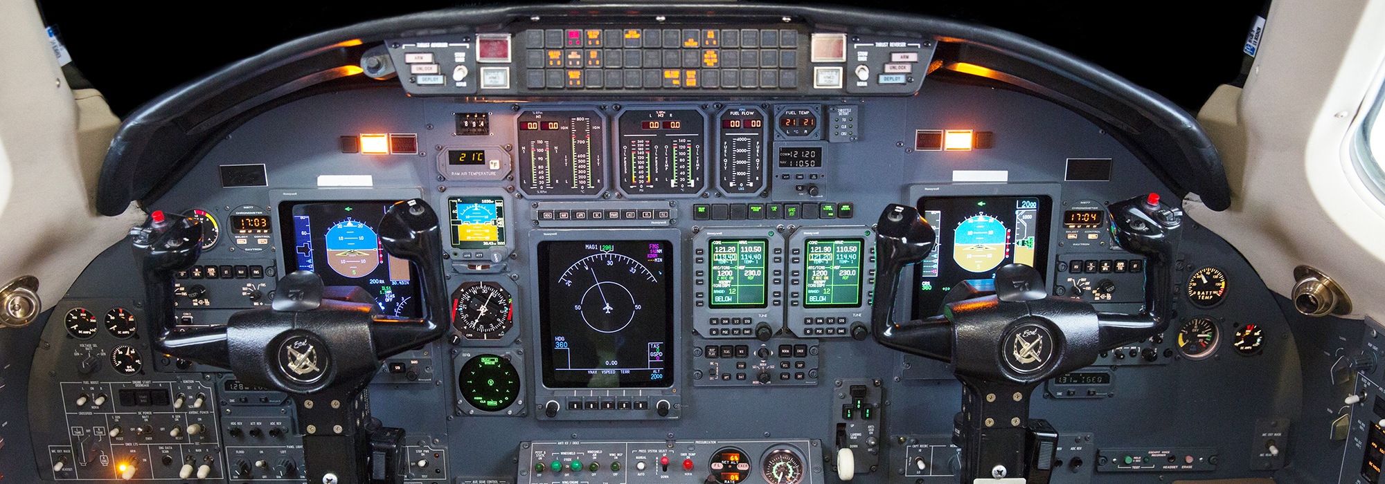 Citation Excel Honeywell Panel
